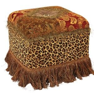 Foot Stool | Reilly-Chance Collection