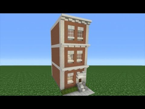 Minecraft Tutorial How To Make A Town House Youtube Minecraft Tutorial Minecraft City Minecraft Houses