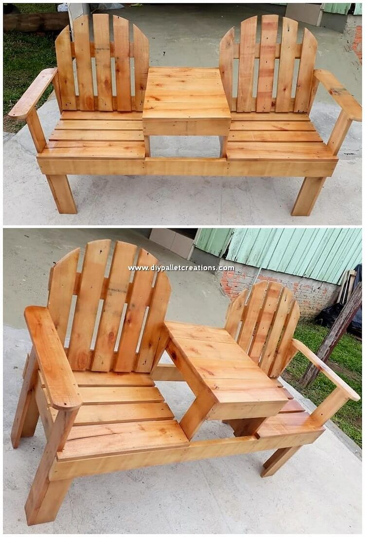 Such a sophisticated wood pallet interesting chairs design for the