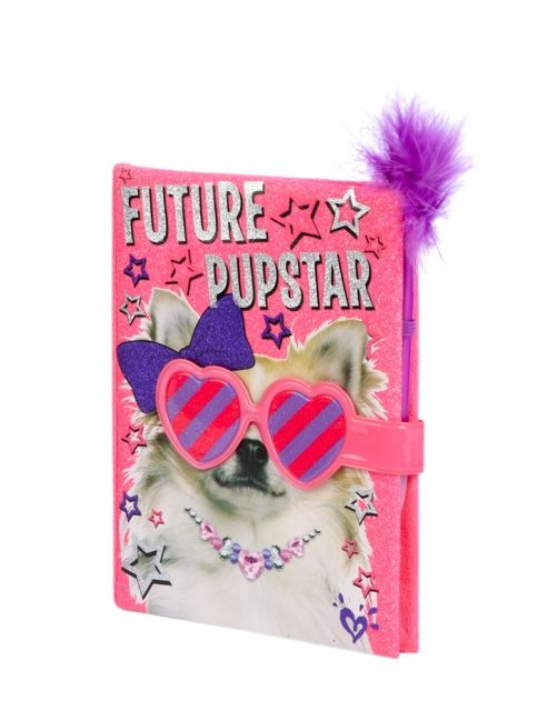 Magnetic Future Pupstar Diary Girls Journals Amp Writing