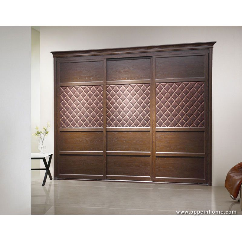 Bedroom furniture item name modern brown built in - Bedroom cabinets with sliding doors ...