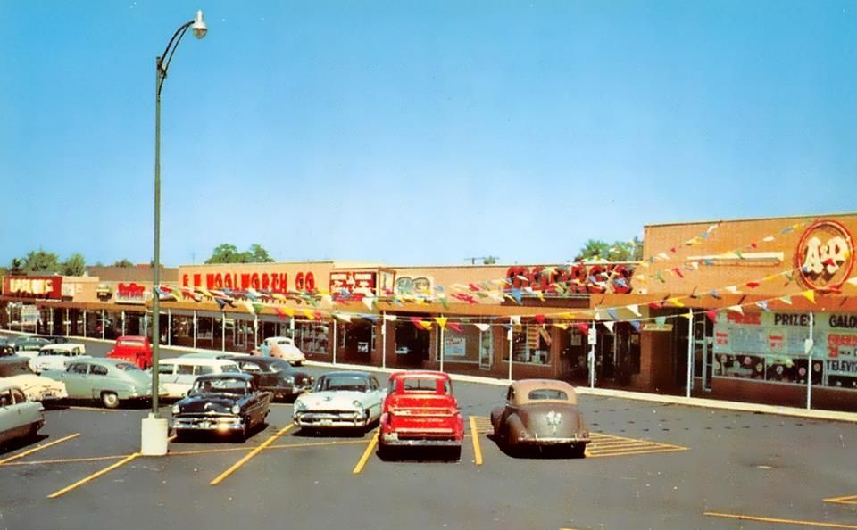 Woolworth and ap in the 1950s wooster oh vintage