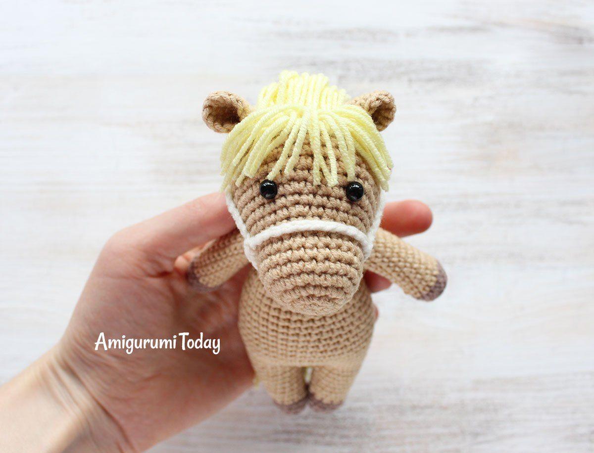 Cuddle Me Pony patrón de ganchillo por Amigurumi Hoy | mini ...