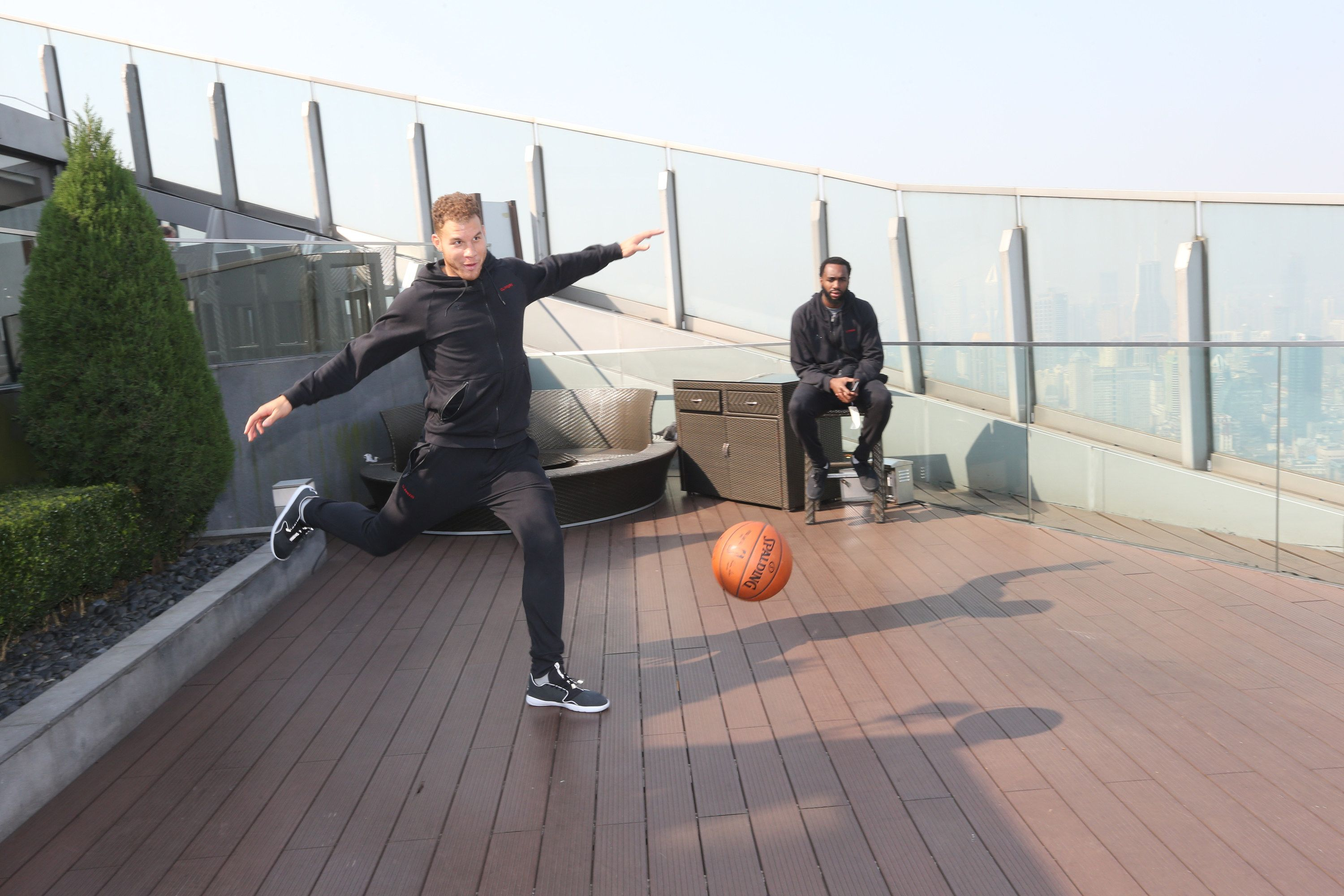 How to use a basketball, not, By Blake Griffin, Shanghai 2015