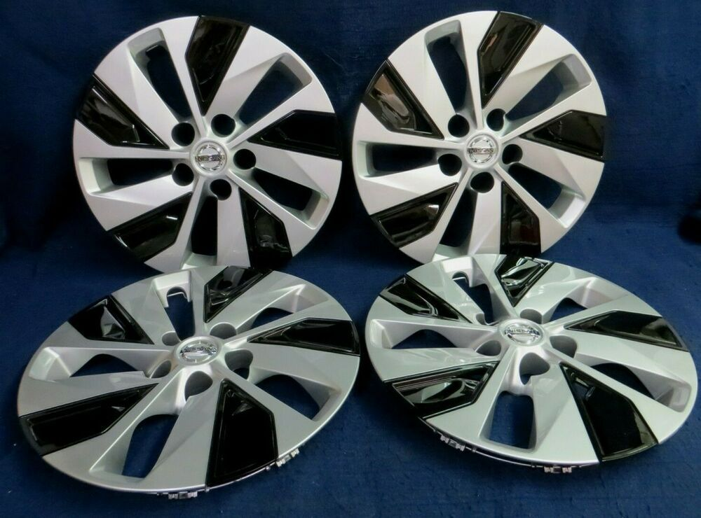 BDK Nissan Altima Hubcaps Wheel Cover 16 Silver Replica Cover 4 Pieces OEM Factory Replacement