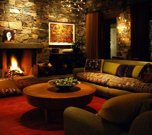Rustic Home Decorating Ideas: Unique Sofa Furniture Design Home Interior By Ron Arad