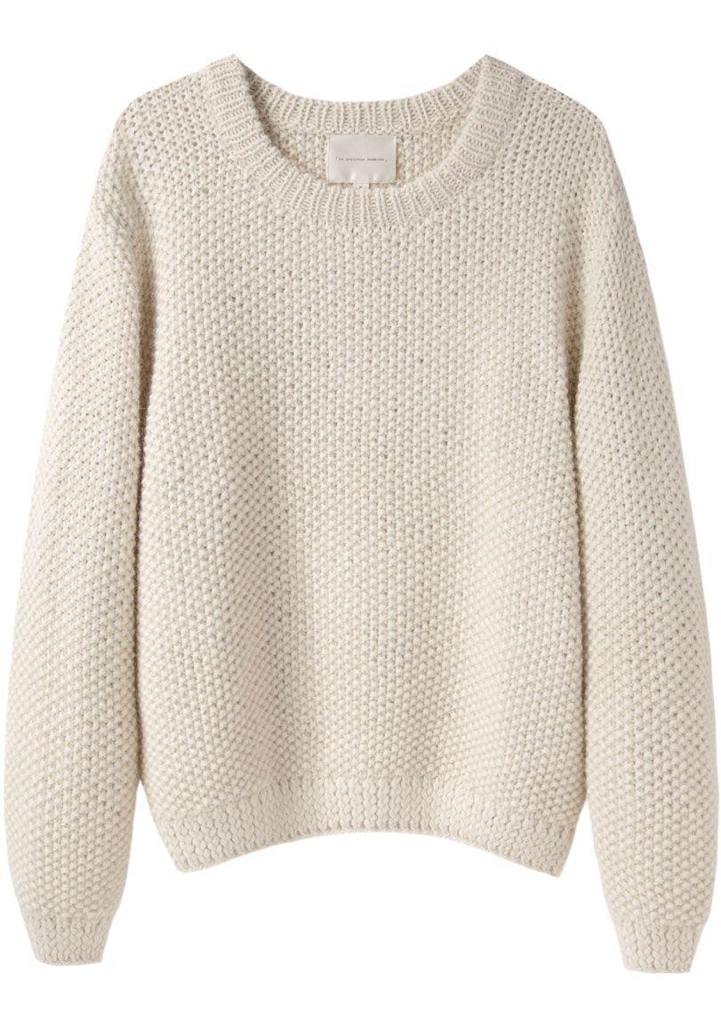 Eitelkeit Moderne Pullover Sammlung Von La Garçonne / Sylvia Alpaca Handknit |