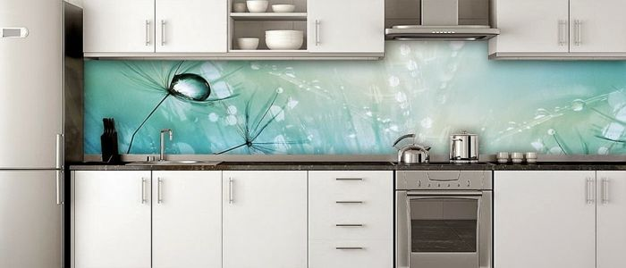 Kitchen Splash Guard Floor Mats For 35 Splashbacks Made Of Glass Opulent The