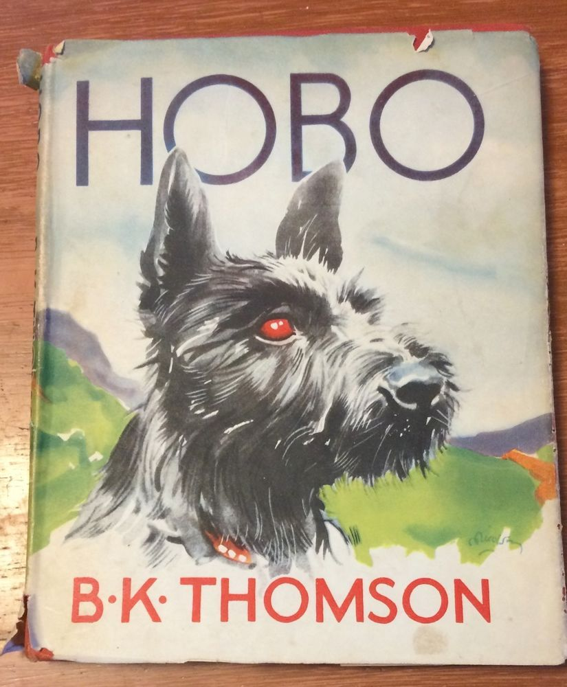 Hobo The Story Of A Scottish Terrier Vintage Dog Book Dog
