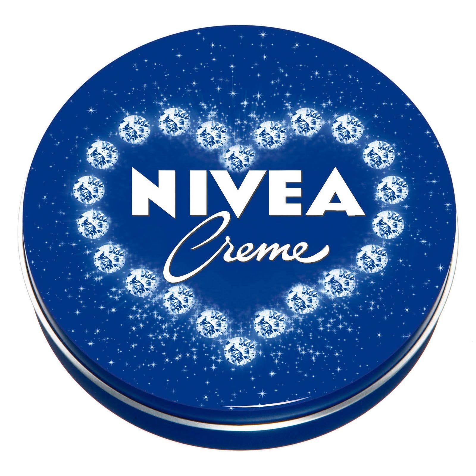Love the sparkles on the NIVEA tin.