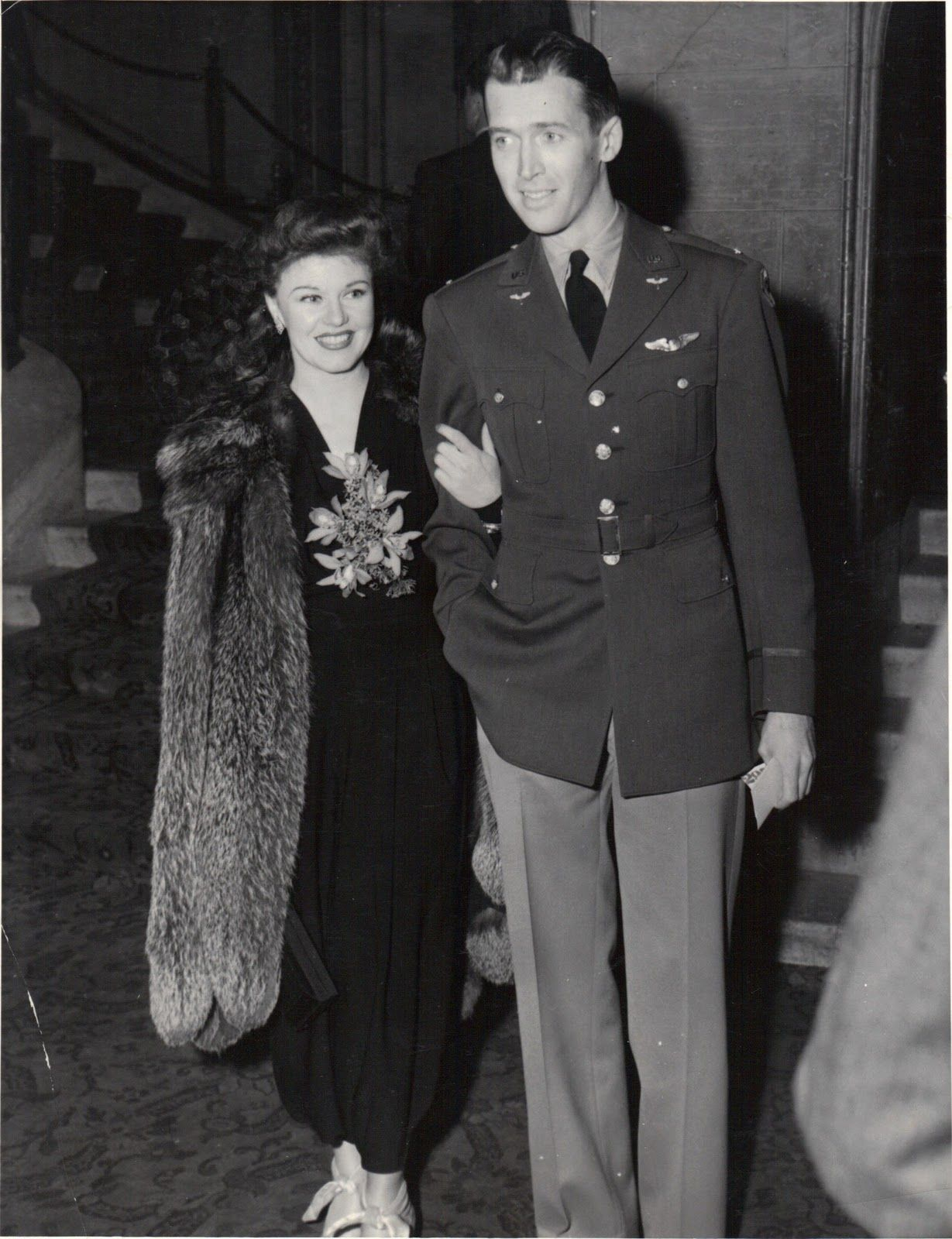 Jimmy Stewart in the Air Force | ... by the handsome james stewart to the oscars at the biltmore bowl in