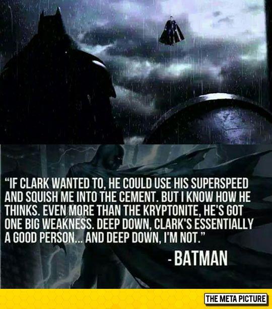 Batman Vs Superman Who Will Win Superhero Quotes Superhero Facts Batman Quotes