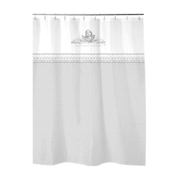 Rideau de douche Ange Mathilde M | Mathilde M décoration #cosy pour ...