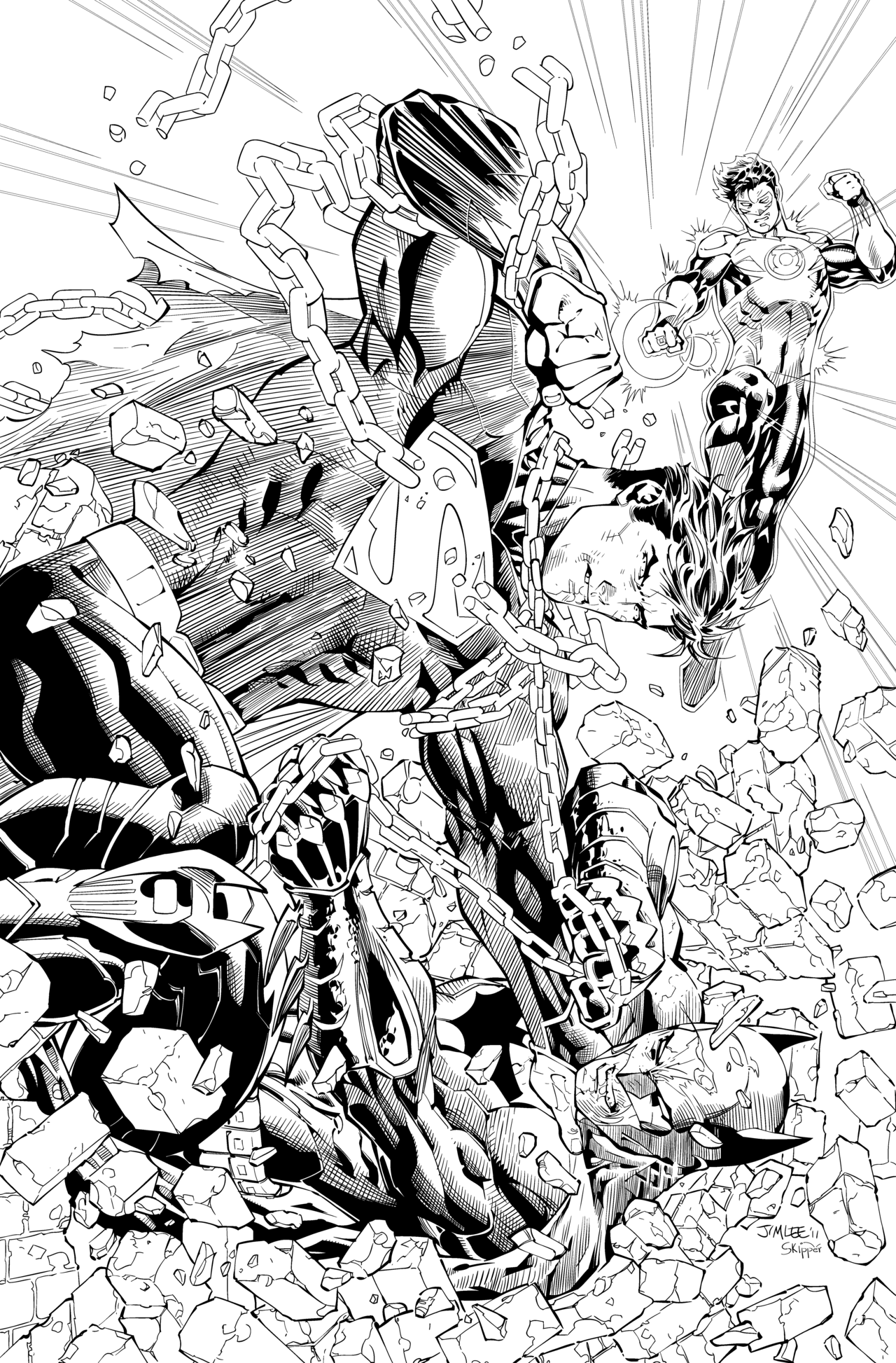 DC's Coloring Book Variant Theme for January 2016 - The Blog of Oa | 1946x1280