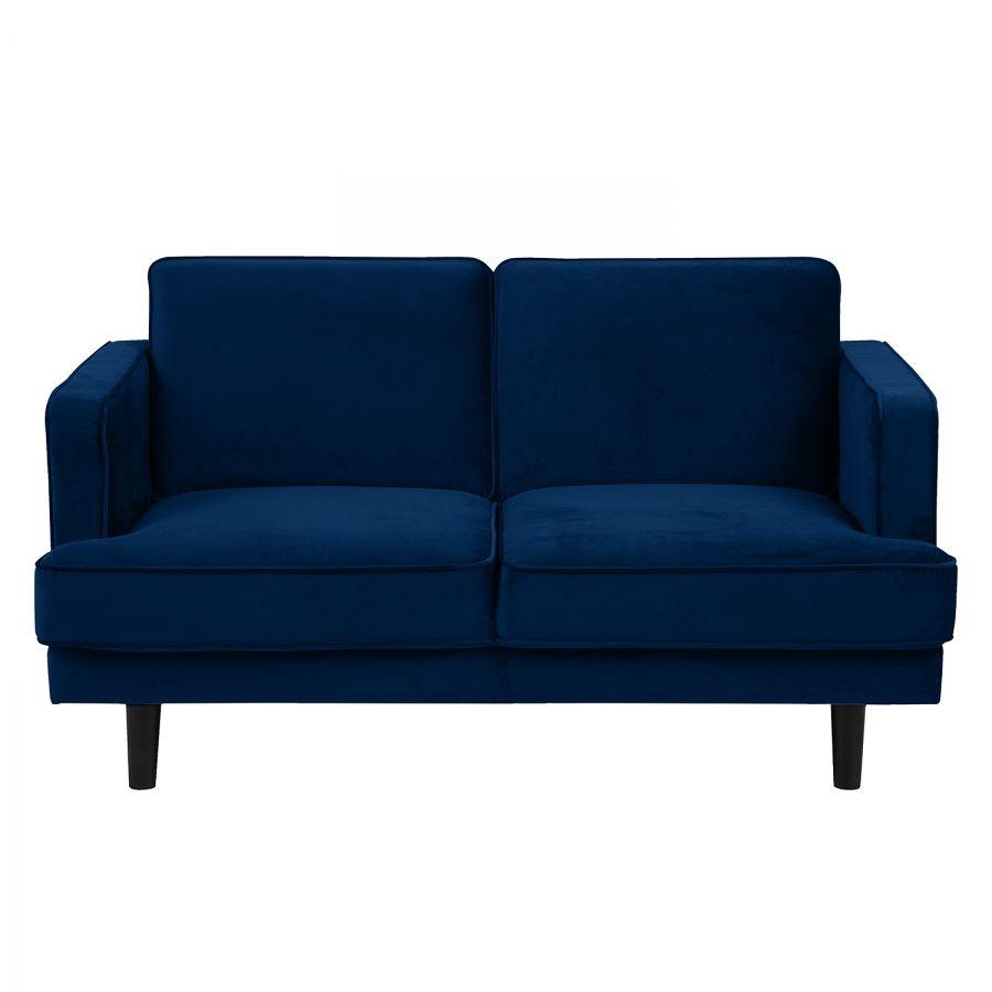 Sofa Barnwell Microfaser 2 Sitzer Dunkelblau Furniture Love Seat Home Decor