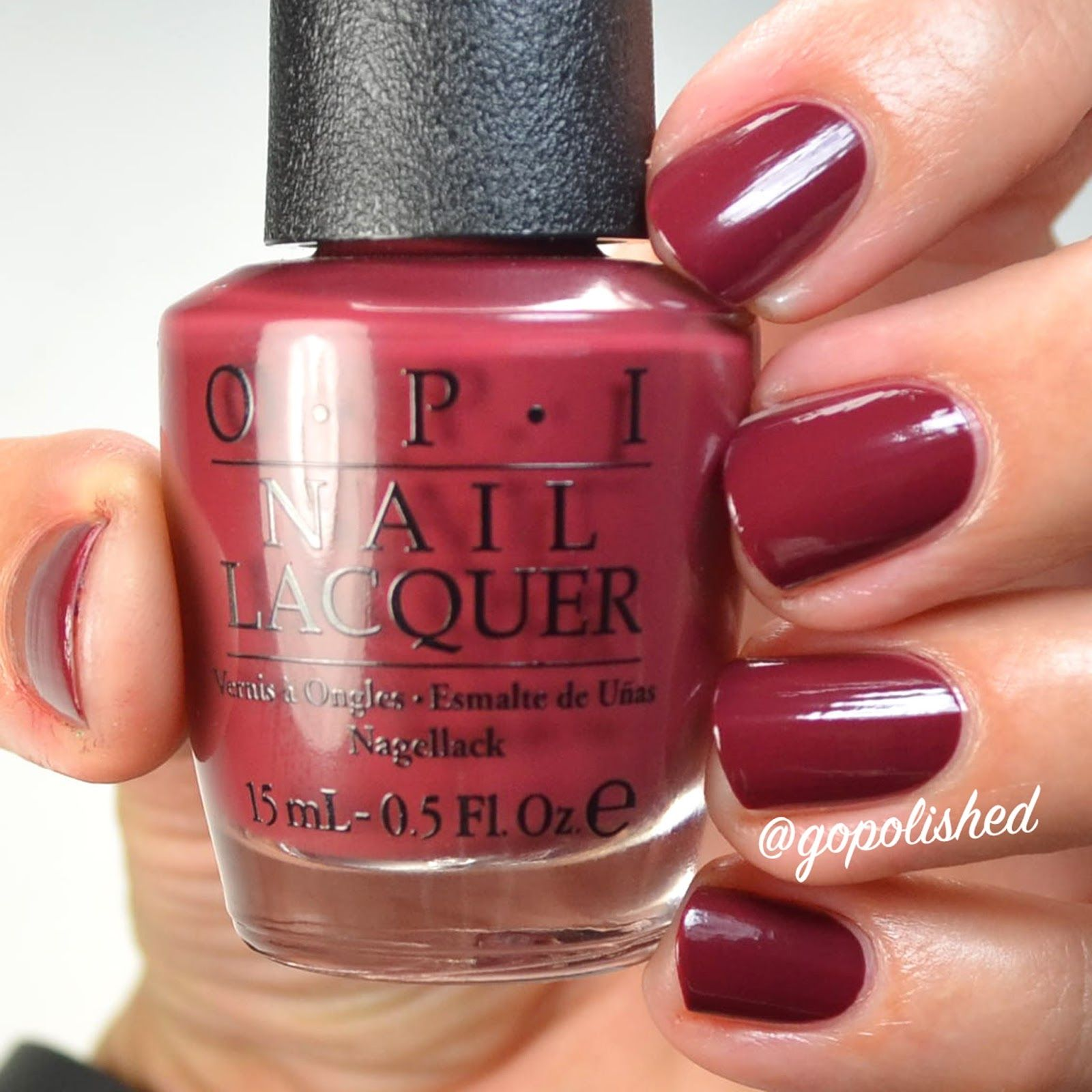 I have comparisons for the OPI Washington DC Collection for you! If ...