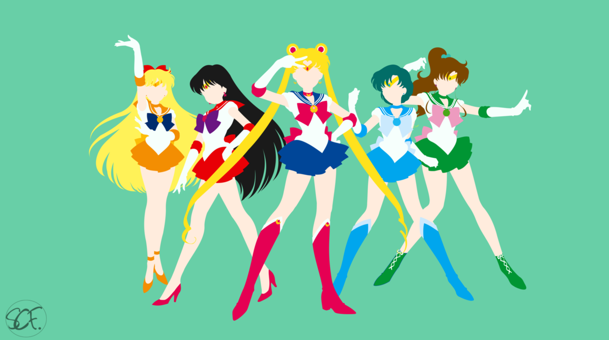 Sailor Moon Sailors Classic Sailor Moon Wallpaper Sailor Moon Sailor Moon Crystal