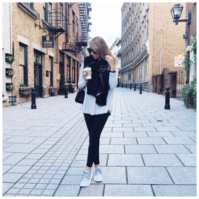"""Ethan and I spent the whole weekend saying, """"why aren't we still in Quebec City?"""" 😞 Definitely having some post vacation blues over here BUT I am excited to share details of our trip with you all this week so stay tuned! Hope you all had a relaxing Sunday! http://liketk.it/2pdb0 @liketoknow.it #liketkit"""