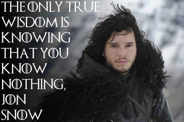 "14 Famous Proverbs As Told By ""Game Of Thrones"" Characters"