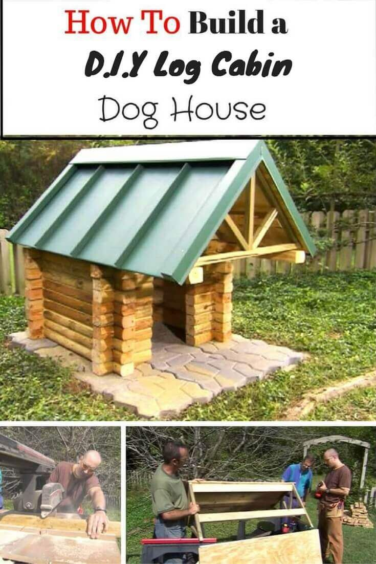 21 Awesome Diy Dog Houses With Free Step By Step Plans Cool Dog