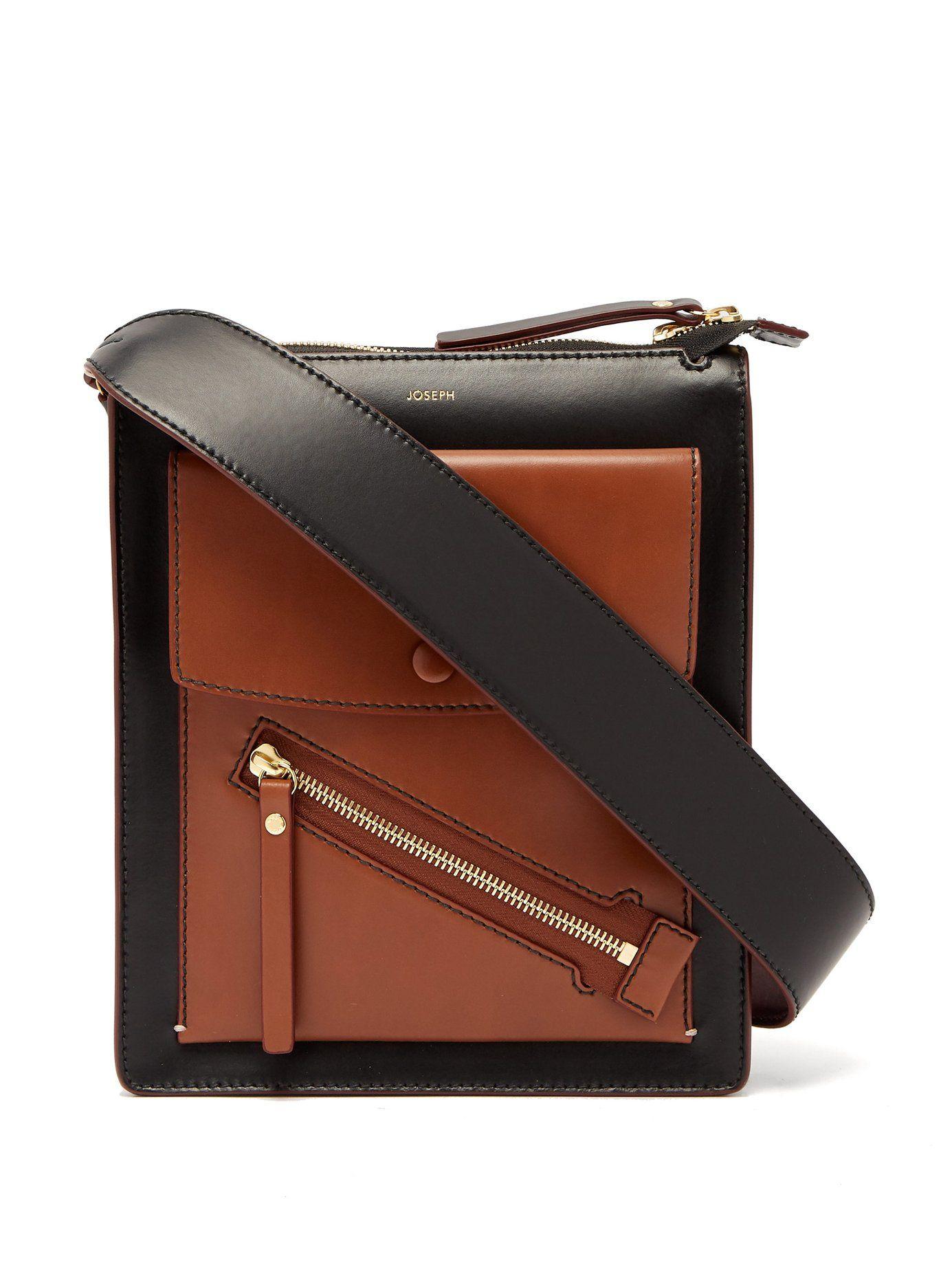 1ca8fd47cf7 Mortimer leather shoulder bag   Joseph   MATCHESFASHION.COM ...