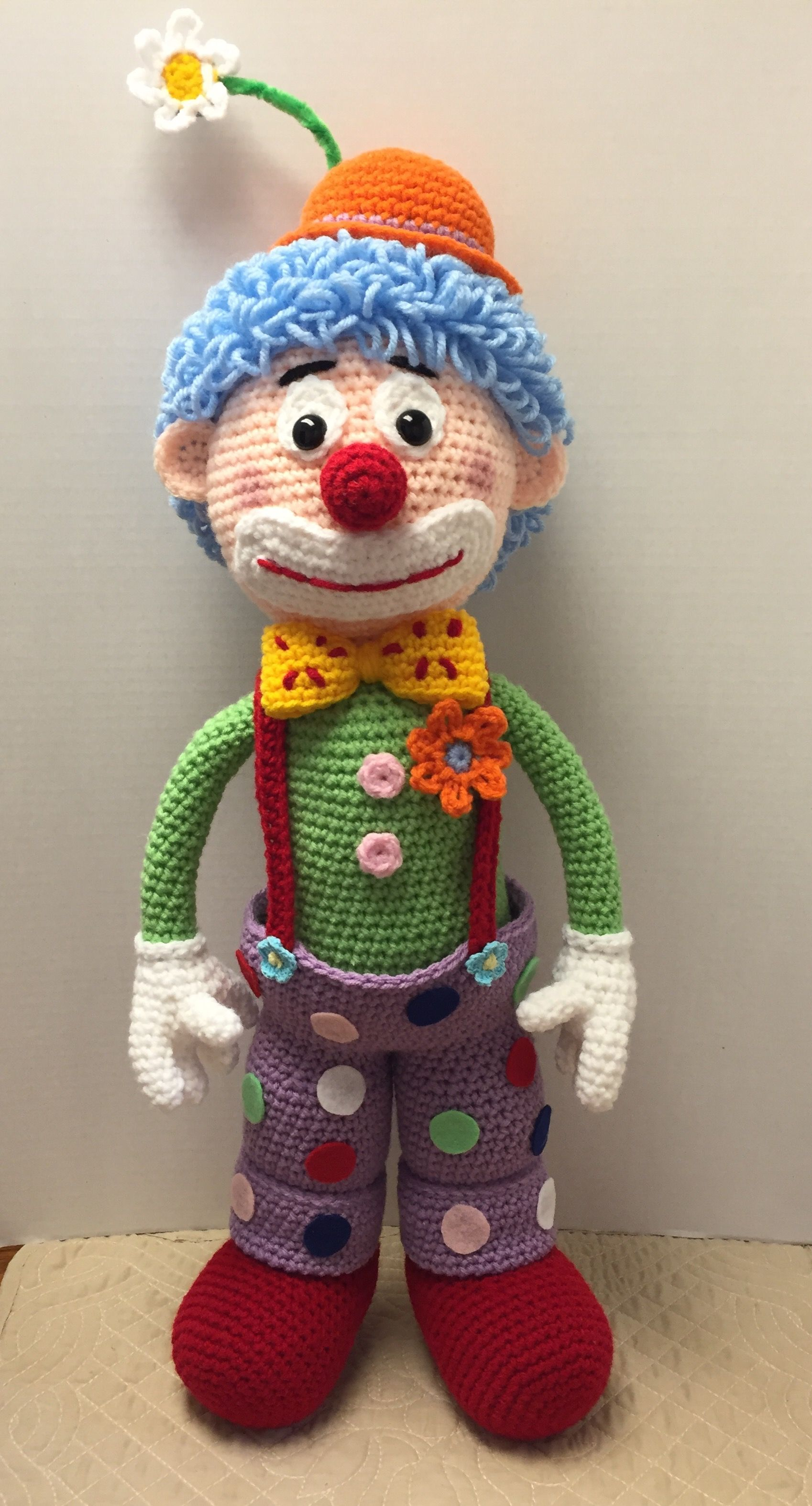 Arlo the clown | АРЛЕКИН И КЛОУН | Pinterest | Amigurumi, Crochet ...