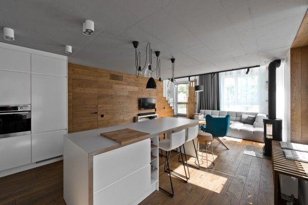 Chic Scandinavian Loft Interior | Departamentos, Deco y Cosas