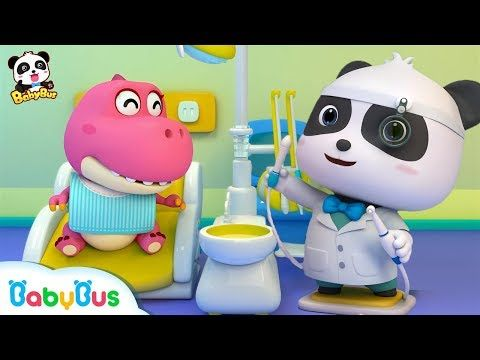 Baby Panda Dental Care | Doctor Song | Good Habit Song | Baby Song | Nursery Rhymes | BabyBus - YouTube #babypandas