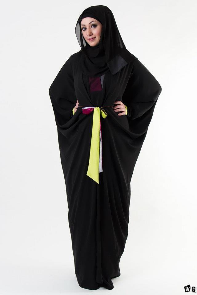 عبايات دبي 2015 صور عبايات 2015 خليجية سوداء اجمل عبايات خليجيه Fashion Abayas Fashion Abaya Designs