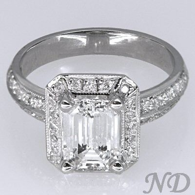 17 Best Images About Engagement Rings On Pinterest Emerald Cut