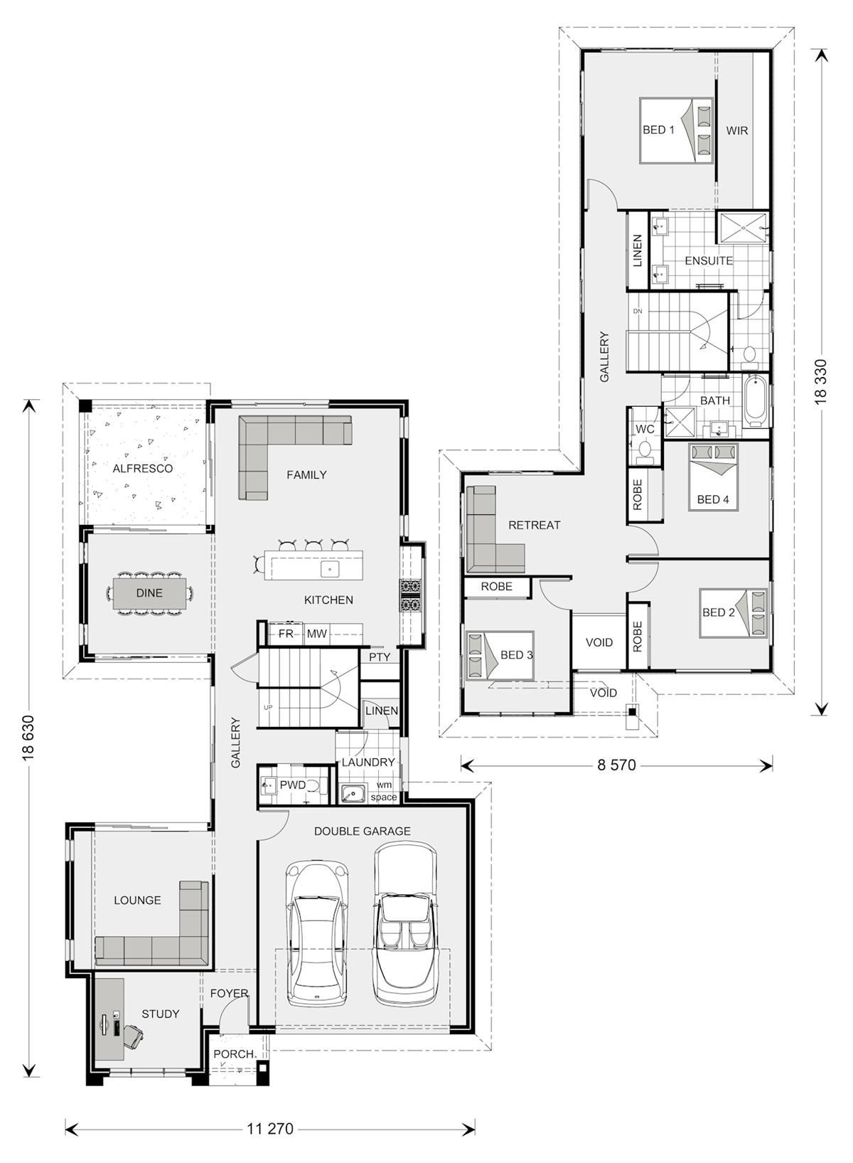 Galleria 352 - Element, Home Designs in Adelaide South   G.J. ...