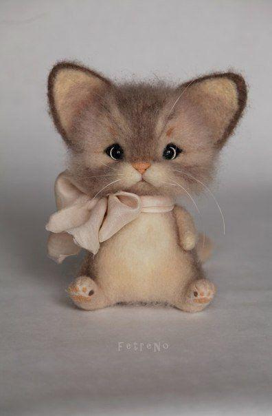 30 Cute Needle Felting Ideas | PicturesCrafts.com
