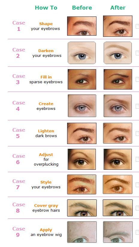 know so many people that need to hear how much better they would look if shaped their brows differently but there   just no nice way tell them also makeup color theory make up artistry rh pinterest