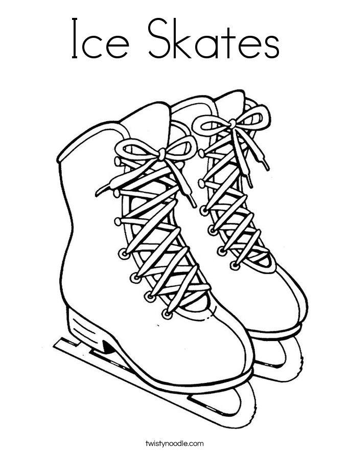 Ice Skate Coloring Pages Google Search Coloring Pages Free Printable Coloring Pages Ice Skating