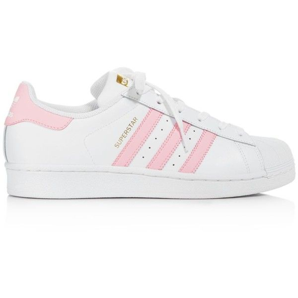 official photos c2e14 18587 Adidas Women s Superstar Foundation Lace Up Sneakers ( 80) ❤ liked on  Polyvore featuring shoes
