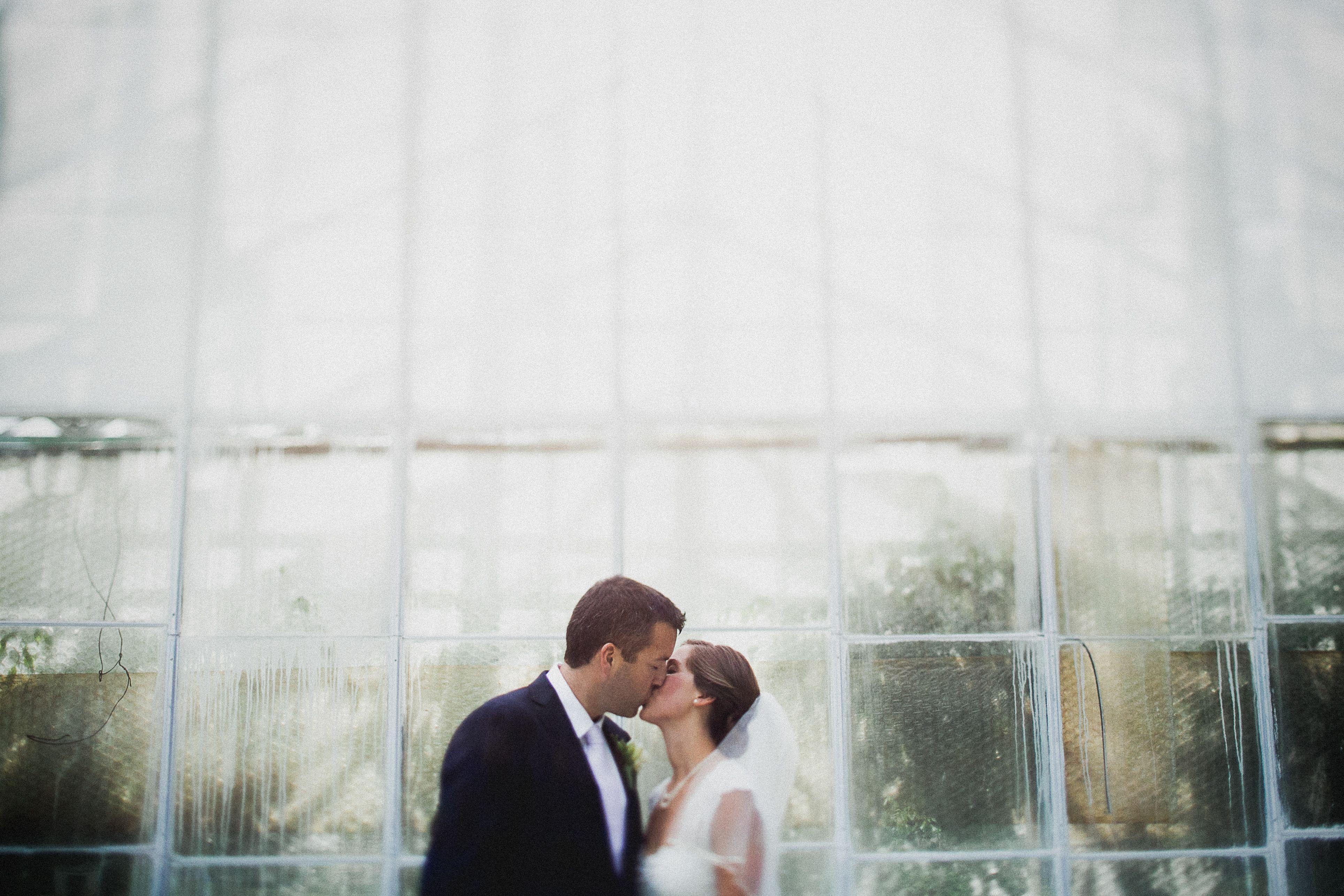 A Classy, Natural Wedding at Philadelphia Horticultural Center in Philadelphia, Pennsylvania