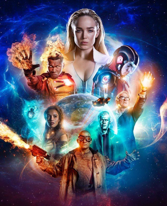 Poster Nuevo Para La Tercera Temporada De Dc S Legends Of Tomorrow