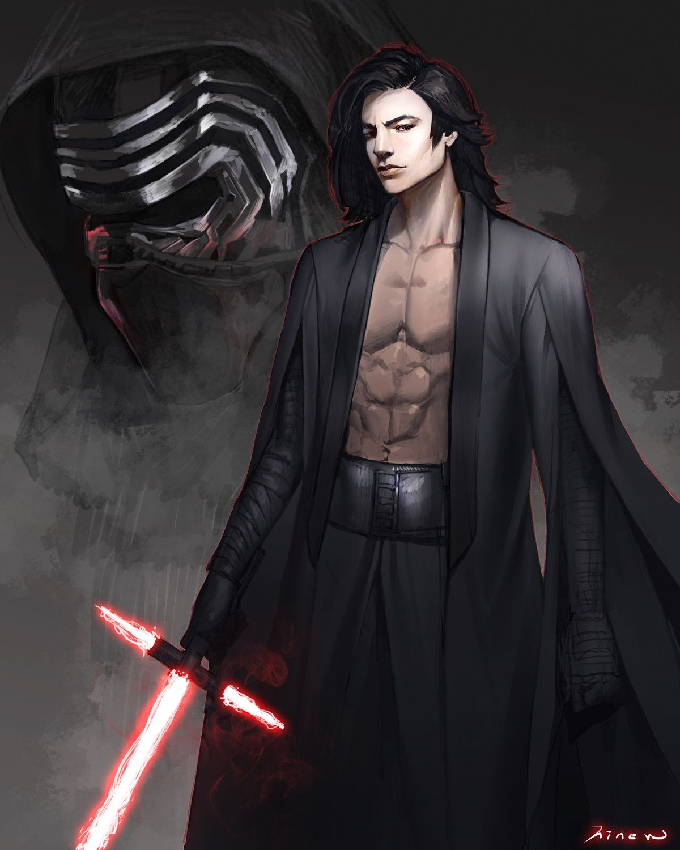 Star Wars Fanart, hinew KIM #kyloren
