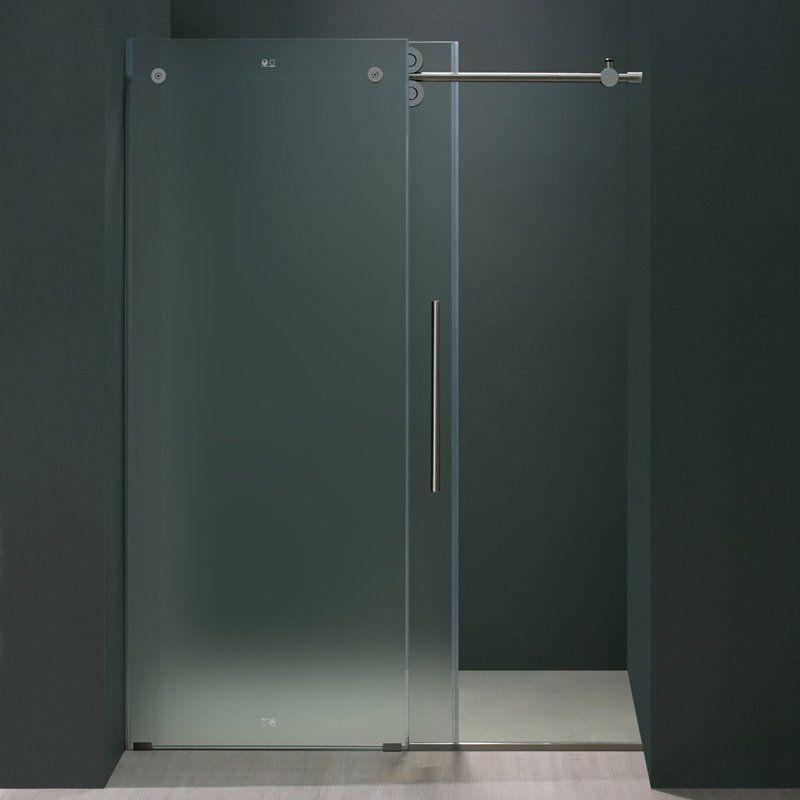 Frosted Glass Shower Door Vg6041stmt7274r