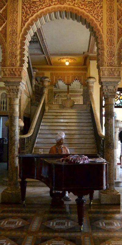 Music at Palacio de Valle, Cienfuegos Cuba