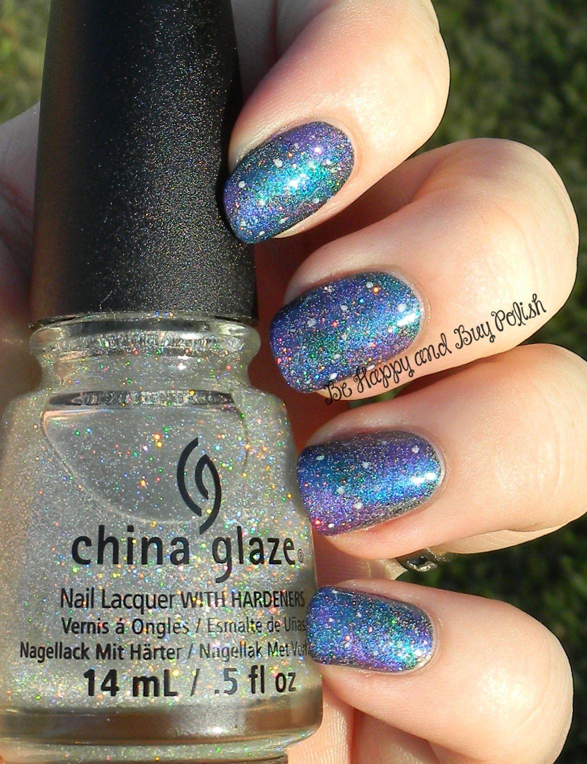 OMD2 Nail Art Challenge: Galaxy Nail Art | Beautiful Nails ...