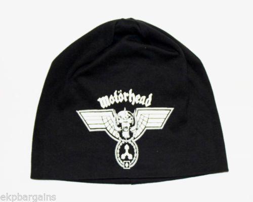 f5e661b6000 Motorhead Beanie Hat - Hammered Men s Skull Cap Black Official in  Entertainment Memorabilia