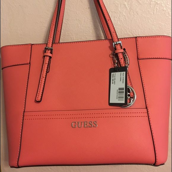 Guess Handbag Style  VY453522 Color  CORAL Guess Other. Selling this Guess  Handbag in my Poshmark closet! My username is  probinsyana11. d8130a6fc4300