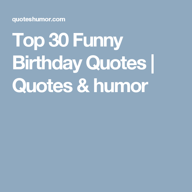 Dating after 30 funny birthday