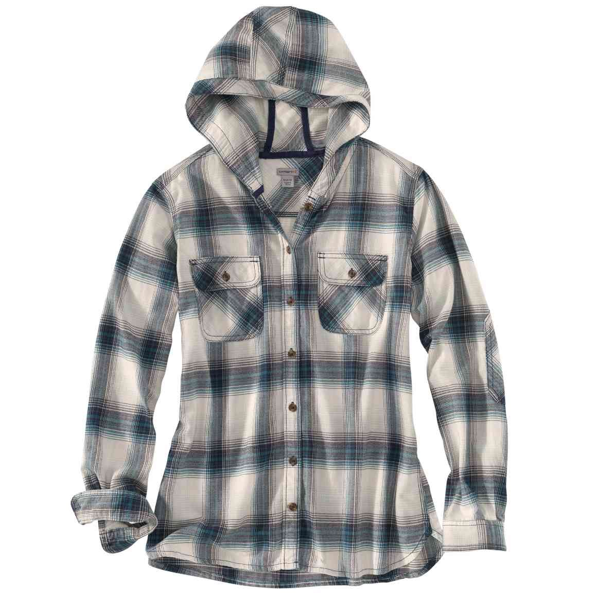 Flannel hoodie jacket women's  Carhartt   front  Country Style  Pinterest  Carhartt