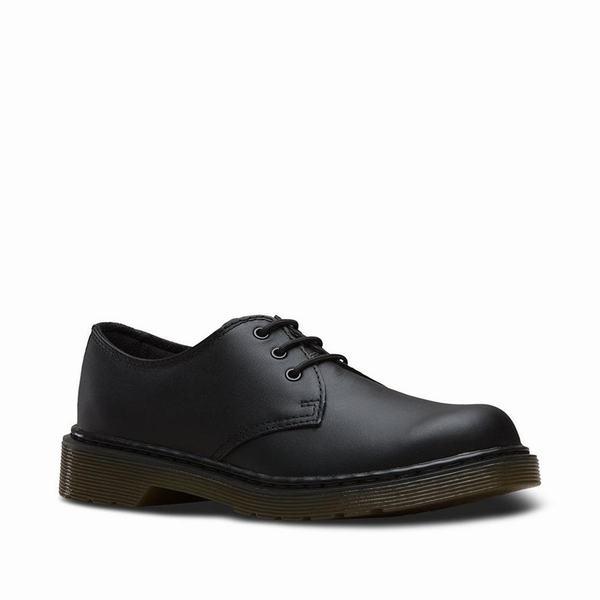 Dr Martens 1461 Softy T Youth Buty Dzieciece Czarne Lu4073we Dress Shoes Men Shoes Dress Shoes