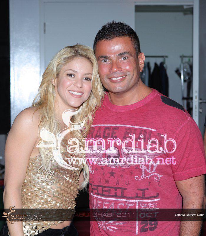 Amr Diab Shakira Shakira Pop Star Singer