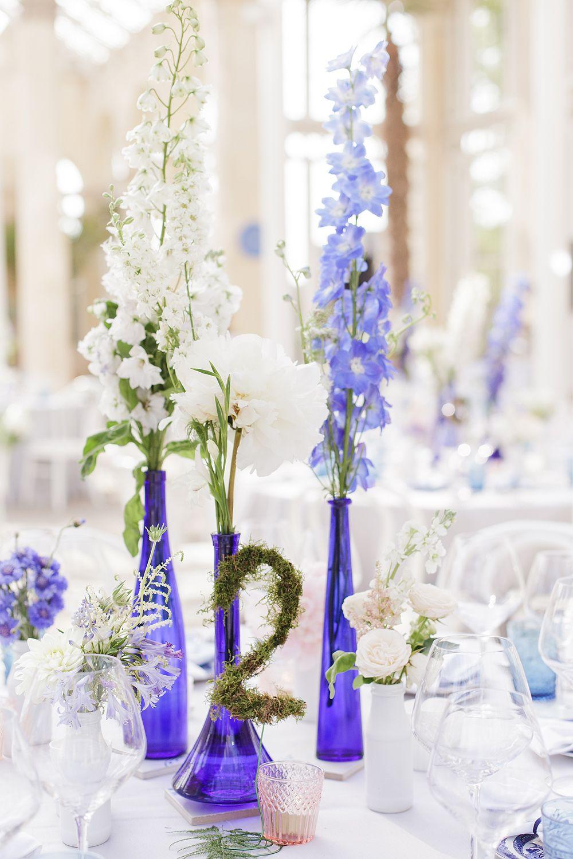 Elegant China Blue Manor House Wedding | Wedding Inspiration