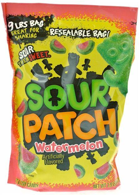 Sour Patch Watermelon Slices Candy 1 9 Lb Bag Sour Patch Watermelon Sour Patch Kids Sour Patch