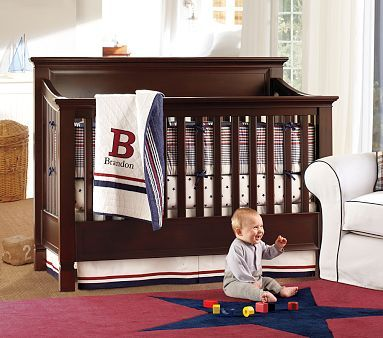 Larkin 4 In 1 Crib Pottery Barn Kids 4 In 1 Crib Baby Boy Nurseries